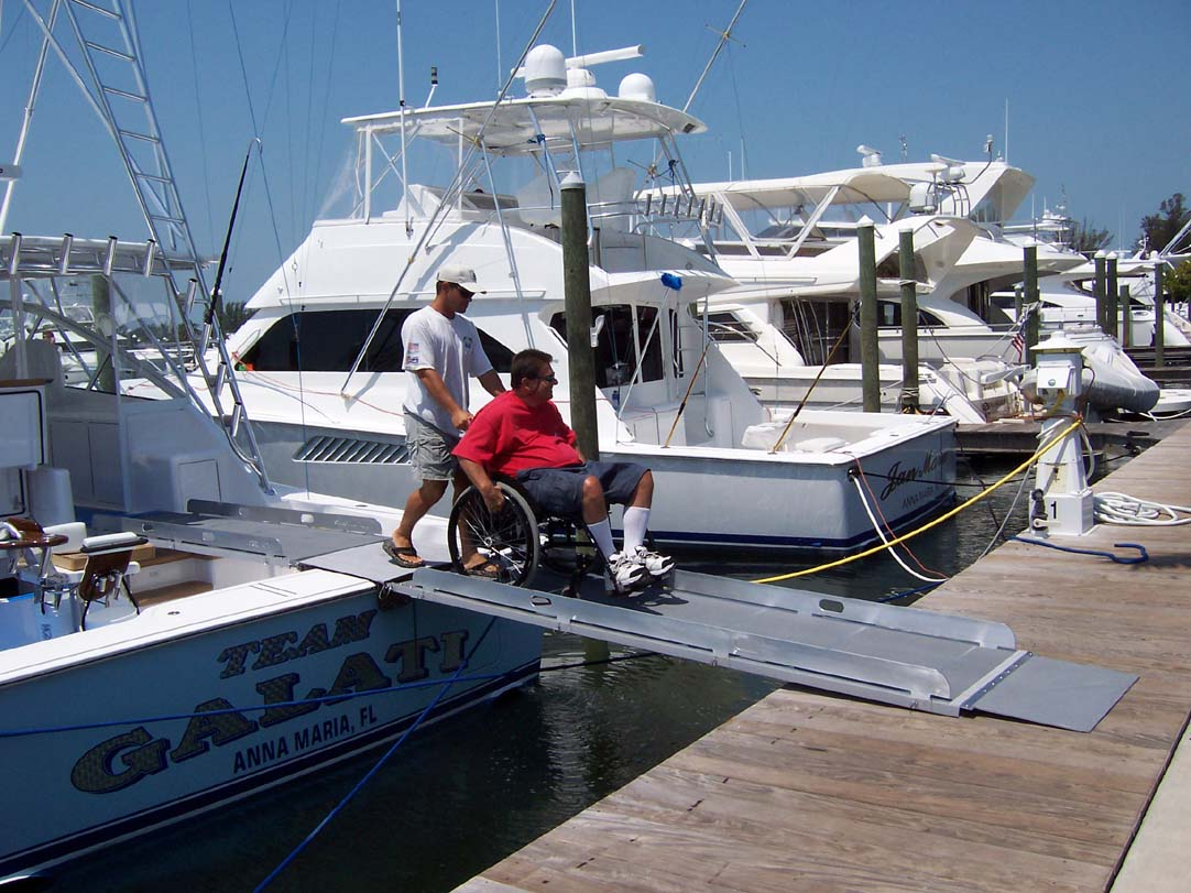 wheelchair  boarding ramp