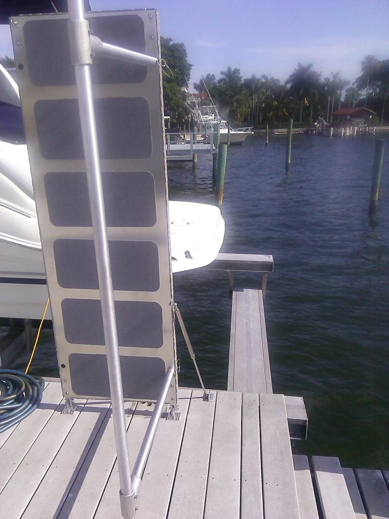 Boat Lift Boarding Ramp Solutions Steadi Plank Affordable