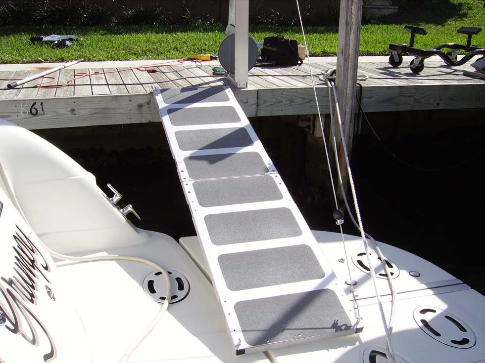 ramp attached to dock