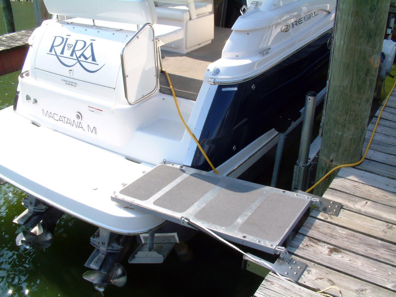 Boat Boarding Ramp Steadi Plank Affordable Effective