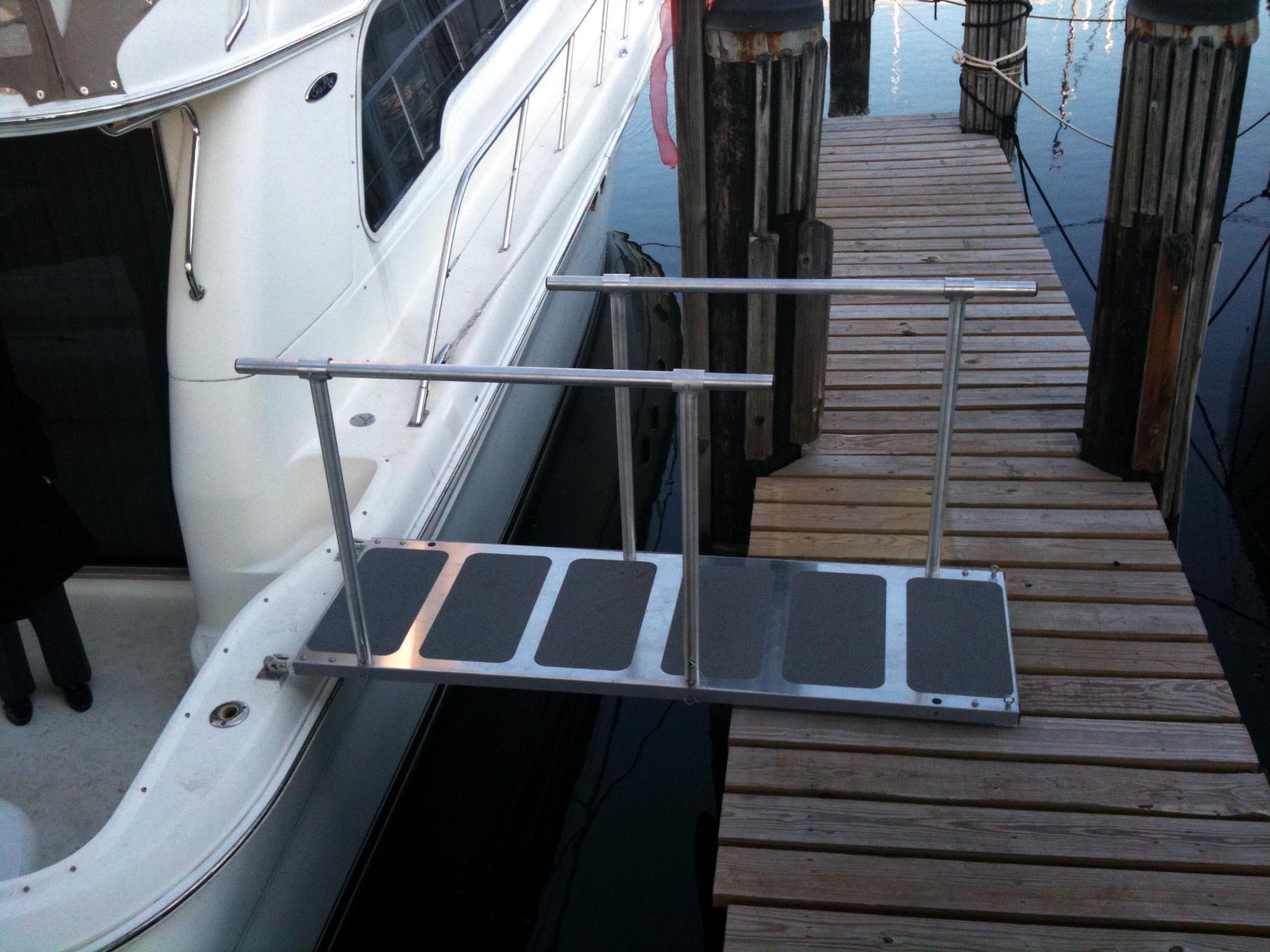 Boat Boarding Ramp Steadi Plank Affordable Effective