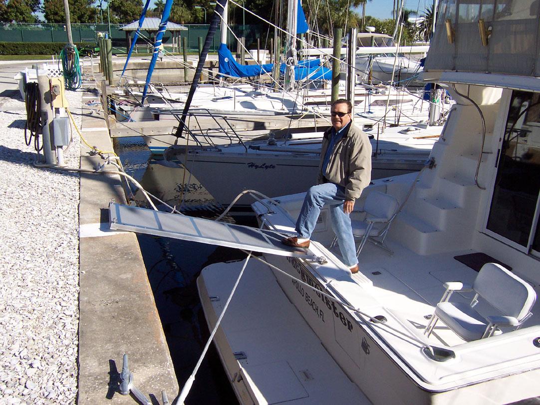 Boat Boarding Ramps Passerelle Solution Steadi Plank
